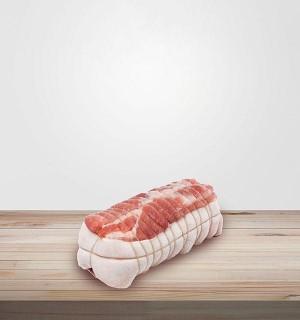 RÔTI DE PORC ÉCHINE. Vente de viande en ligne, charcuterie sans nitrite en ligne, livraison en ligne, commande viande en ligne.