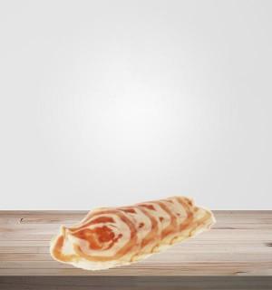 Pancetta sans sel nitrité tranchée