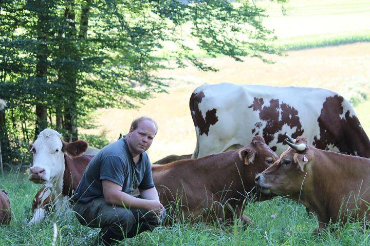 Martial GAYE, producteur de veau de lait Limousin, Les Fines Bouches Rient